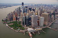 Lower Manhattan featuring Battery Park & Staten Island Ferry