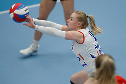 20190424 NED: Sliedrecht Sport - VC Sneek: Sliedrecht<br /> Janieke Popma (2) of VC Sneek<br /> ©2019-FotoHoogendoorn.nl / Pim Waslander