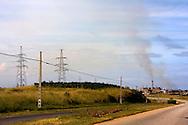 Power plant in Mariel, Artemisa, Cuba.