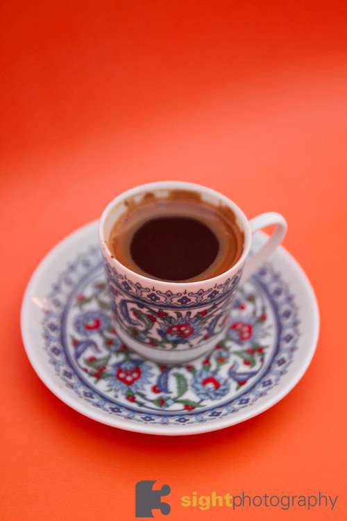 Turkish coffee. Photo by Bryan Rinnert/3Sight Photography.