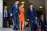 Aankomst van Koningin Maxima bij de klimaatconferentie Adaption Futures in Rotterdam <br /> Arrival of Queen Maxima at the Climate Adaptation Futures in Rotterdam