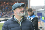 Keith Hill during the The FA Cup match between Rochdale and Tottenham Hotspur at Spotland, Rochdale, England on 18 February 2018. Picture by Daniel Youngs.