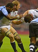 Twickenham, GREAT BRITAIN, during the QBE International Series, England vs Fiji, Autumn International at Twickenham Stadium, Surrey on   Saturday,  10/11/2012.  Mandatory Credit  [Peter Spurrier/Intersport-images]