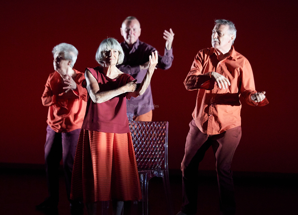 22nd June 2017. Elixir Festival, Knowbody II. Sadler's Wells,London. <br /> <br /> Here <br /> Performed by the Company of Elders