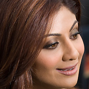 SHEFFIELD, UNITED KINGDOM - 9th June 2007: Bollywood actress Shilpa Shetty at International Indian Film Academy Awards (IIFAs) at the Sheffield Hallam Arena on June 9, 2007 in Sheffield, England..