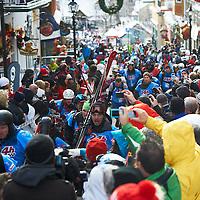 24hrs of Tremblant, ski race start