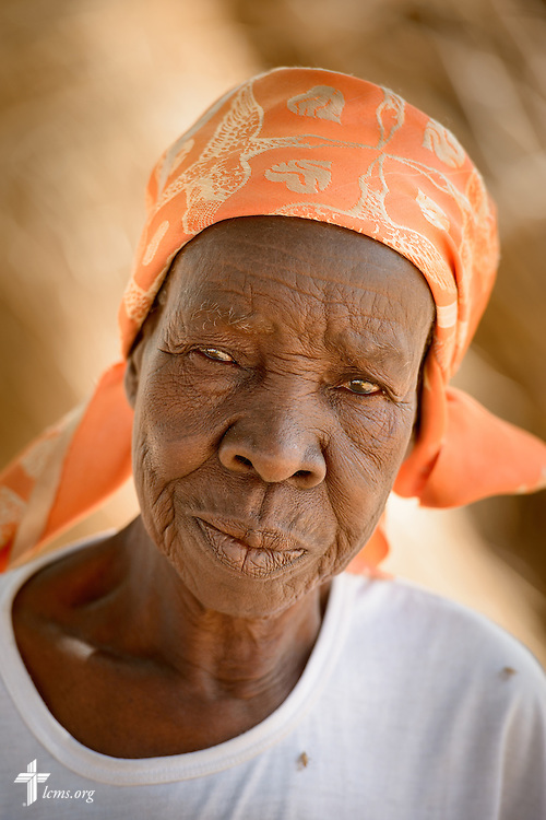 A portrait on Tuesday, Feb. 14, 2017, at a rural village home in Sankpong, Togo. LCMS Communications/Erik M. Lunsford