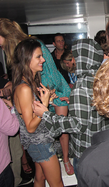 **EXCLUSIVE**Alessandra Ambrosio.Celebs Partying and having fun in St. Barth.Yacht Club Nightclub.St. Barth, Caribbean.Wednesday, December 29, 2010.Photo By CelebrityVibe.com.To license this image please call (212) 410 5354; or Email: CelebrityVibe@gmail.com ; website: www.CelebrityVibe.com