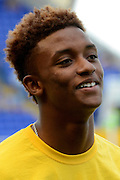 Demarai Gray during the Sky Bet Championship match between Birmingham City and Reading at St Andrews, Birmingham, England on 8 August 2015. Photo by Alan Franklin.