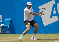 Tennis - 2017 Aegon Championships [Queen's Club Championship] - Day Four, Thursday <br /> <br /> Men's Singles: Round of 16 - Jordan THOMPSON (AUS) vs Sam QUERREY (USA)<br /> <br /> Jordan Thompson (AUS) at Queens Club<br /> <br /> COLORSPORT/DANIEL BEARHAM