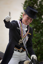 Charlotte, Dujardin, (GBR) - Dressage Kur to Music- Alltech FEI World Equestrian Games™ 2014 - Normandy, France.<br /> © Hippo Foto Team - Dirk Caremans<br /> 25/06/14