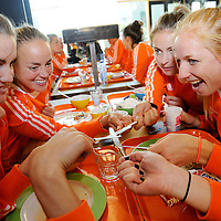 131001 Start Dutch women preparation Wold Cup