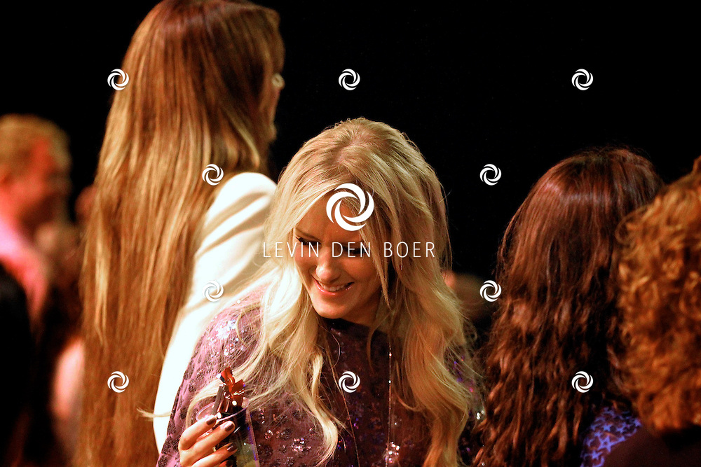 HILVERSUM - De tweede live show van Hollands Got Talent met diversen optredens. Met op deze foto  Josh Veldhuizen die als gast aanwezig was. FOTO LEVIN DEN BOER - PERSFOTO.NU