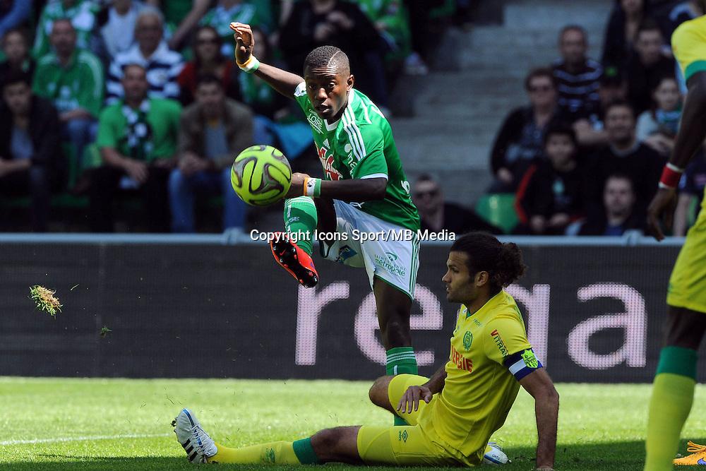 Max Alain GRADEL  - 12.04.2015 - Saint Etienne / Nantes - 32eme journee de Ligue 1 <br />Photo : Jean Paul Thomas / Icon Sport