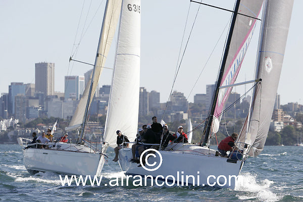 SAILING - BMW Winter Series 2005 - AFR MIDNIGHT RAMBLER - Sydney (AUS) - 29/05/05 - ph. Andrea Francolini
