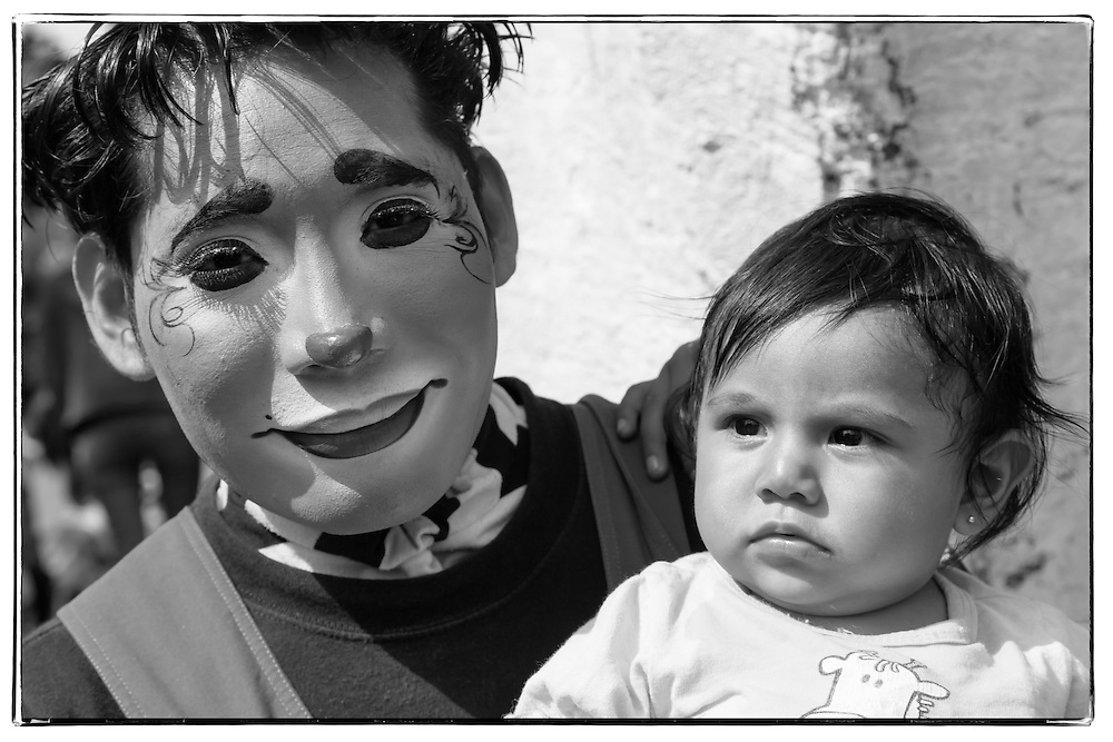 Street portrait in Puebla, Mexico