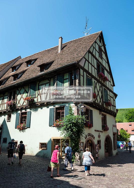 16th Century village of Riquewihr, Alsace, France<br /> <br /> (c) Andrew Wilson | Edinburgh Elite media