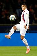 Thiago Silva of PSG during the UEFA Champions League, Group A football match between Paris Saint-Germain and Club Brugge on November 6, 2019 at Parc des Princes stadium in Paris, France - Photo Mehdi Taamallah / ProSportsImages / DPPI