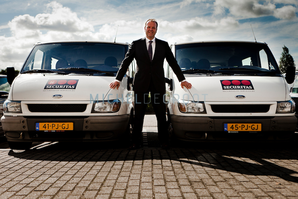 Cor Stolk, Securitas in Rotterdam