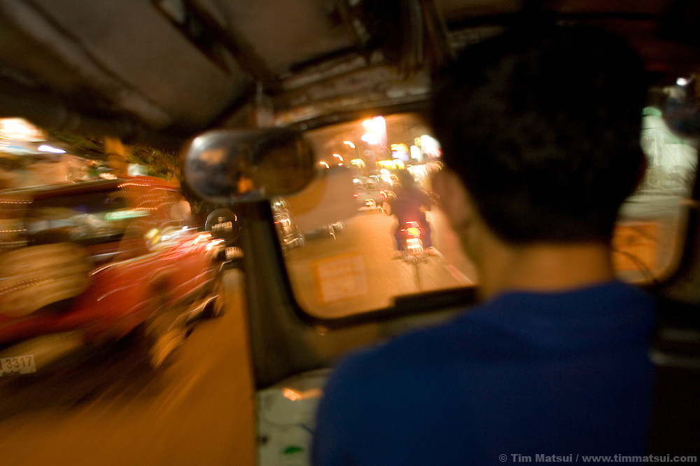 Tuk tuk driver, Chiang Mai, Thailand