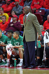 NORMAL, IL - November 13: Lance Irvin during a college basketball game between the ISU Redbirds  and the Chicago State Cougars on November 13 2018 at Redbird Arena in Normal, IL. (Photo by Alan Look)