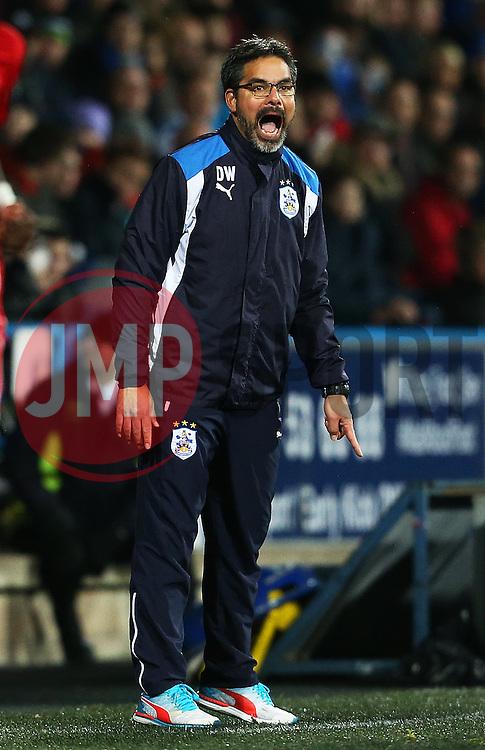 Huddersfield Town manager David Wagner shouts - Mandatory by-line: Matt McNulty/JMP - 10/12/2016 - FOOTBALL - The John Smith's Stadium - Huddersfield, England - Huddersfield Town v Bristol City - Sky Bet Championship