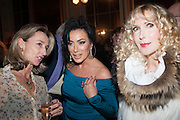 DAISY WAUGH; NANCY DELL D'OLIO; BASIA BRIGGS, The Literary Review Bad Sex fiction award 2012. The In and Out Club, 4 St. james's Sq. London. 4 December 2012