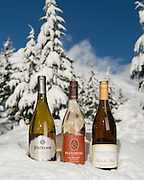 Oregon white pinot noir at Mt. Hood, Oregon