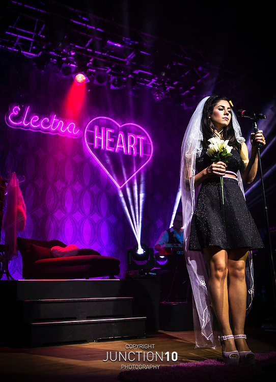 Marina and the Diamonds performs at the Wulfrun Hall, Wolverhampton, United Kingdom.Picture Date: 9 October, 2012