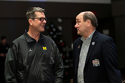General images as the Michigan Wolverines arrive at the 2018 Chick-fil-A Peach Bowl on Sunday, December 23, 2018. Michigan will face Florida in the 2018 Peach Bowl. (Paul Abell via Abell Images for the Chick-fil-A Peach Bowl)