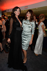 Left to right, DAISY LOWE and ALEXA CHUNG at the GQ Men of The Year Awards 2013 in association with Hugo Boss held at the Royal Opera House, London on 3rd September 2013.