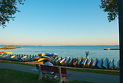 Relaxing by Lake Erie