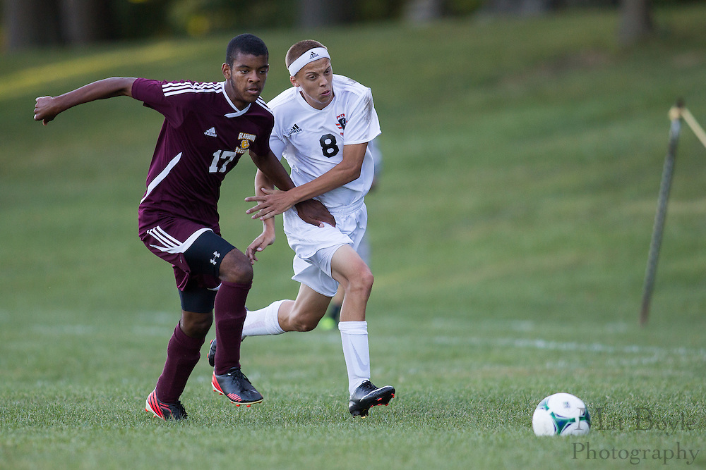 Pitman Boys Soccer vs Glassboro High School at Alcyon Park in Pitman, NJ on Monday September 23, 2013. (photo / Mat Boyle)