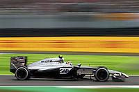 Kevin Magnussen (DEN) McLaren MP4-29.<br /> Japanese Grand Prix, Friday 3rd October 2014. Suzuka, Japan.