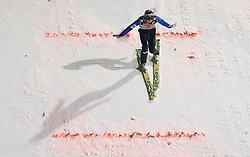 Anders Jacobsen (NOR) competes during Second round of the FIS Ski Jumping World Cup event of the 58th Four Hills ski jumping tournament, on January 6, 2010 in Bischofshofen, Austria. (Photo by Vid Ponikvar / Sportida)