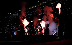 Houston Texans players take the field during team introductions before an NFL football game against the Cincinnati Bengals Saturday, Dec. 24, 2016, in Houston. (AP Photo/Sam Craft)