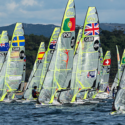 Santander 2014 ISAF World Day 4