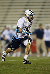 23 April 2010: North Carolina Tar Heels  midfielder Chris Layne (44) during a 13-5 loss to the Maryland Terrapins in the first round of the ACC Tournament at Byrd Stadium in College Park, MD.