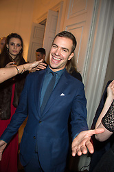 ROBERT SHEFFIELD at the Tatler Little Black Book Party at Home House Member's Club, Portman Square, London supported by CARAT on 11th November 2015.