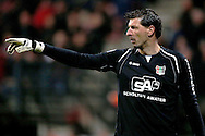 Onderwerp/Subject: NEC - Eredivisie<br /> Reklame:  <br /> Club/Team/Country: <br /> Seizoen/Season: 2012/2013<br /> FOTO/PHOTO: Goalkeeper Gabor BABOS of NEC giving instructions. (Photo by PICS UNITED)<br /> <br /> Trefwoorden/Keywords: <br /> #09 #21 $94 &plusmn;1355229055132<br /> Photo- &amp; Copyrights &copy; PICS UNITED <br /> P.O. Box 7164 - 5605 BE  EINDHOVEN (THE NETHERLANDS) <br /> Phone +31 (0)40 296 28 00 <br /> Fax +31 (0) 40 248 47 43 <br /> http://www.pics-united.com <br /> e-mail : sales@pics-united.com (If you would like to raise any issues regarding any aspects of products / service of PICS UNITED) or <br /> e-mail : sales@pics-united.com   <br /> <br /> ATTENTIE: <br /> Publicatie ook bij aanbieding door derden is slechts toegestaan na verkregen toestemming van Pics United. <br /> VOLLEDIGE NAAMSVERMELDING IS VERPLICHT! (&copy; PICS UNITED/Naam Fotograaf, zie veld 4 van de bestandsinfo 'credits') <br /> ATTENTION:  <br /> &copy; Pics United. Reproduction/publication of this photo by any parties is only permitted after authorisation is sought and obtained from  PICS UNITED- THE NETHERLANDS