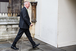 """London, UK. 25 September, 2019. Phillip Lee, Liberal Democrat MP for Bracknell, returns to Parliament on the day after the Supreme Court ruled that the Prime Minister's decision to suspend parliament was """"unlawful, void and of no effect"""". Credit: Mark Kerrison/Alamy Live News"""