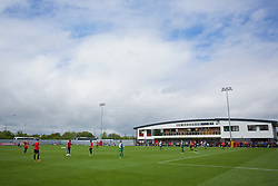 NEWPORT, WALES - Sunday, May 31, 2015: Dragon Park during the Football Association of Wales' National Coaches Conference 2015 at Dragon Park FAW National Development Centre. (Pic by David Rawcliffe/Propaganda)