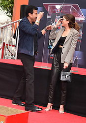Lionel Richie Handprints and Footprints at the Lionel Richie Hand and Footprints Ceremony at the TCL Chinese Theatre on March 7, 2018 in Hollywood, Ca. © Janet Gough / AFF-USA.COM. 07 Mar 2018 Pictured: Lionel Richie and Sofia Richie. Photo credit: MEGA TheMegaAgency.com +1 888 505 6342