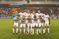 March 1, 2018 - Harrison, New Jersey, United States - Players of New York Red Bulls pose before 2018 CONCACAF Champions League round of 16 game against CD Olimpia of Honduras at Red Bull arena, Red Bulls won 2 - 0 (Credit Image: © Lev Radin/Pacific Press via ZUMA Wire)