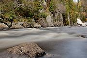 La Riviere du Diable (the Devil's River) flows from Le Chute-du-Diable through Mont Tremblant National Park in Quebec, Canada. PHOTO BY TIM SNOW