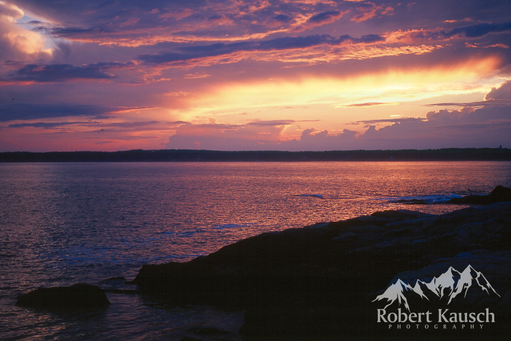 Sunset View From Pemaquid Point