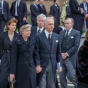 LUX/Luxemburg/20190504 -  Funeral<br /> of HRH Grand Duke Jean, Uitvaart Groothertog Jean, Aartshertogin Marie Astrid van Oostenrijk en aartshertog Carl Christian van Oostenrijk