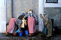 Maroc - Region du Rif - Ville de Tetouan - Patrimoine mondial de l'Unesco