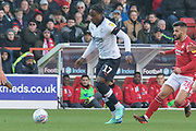 Pelly-Ruddock Mpanzu (17) during the EFL Sky Bet Championship match between Nottingham Forest and Luton Town at the City Ground, Nottingham, England on 19 January 2020.
