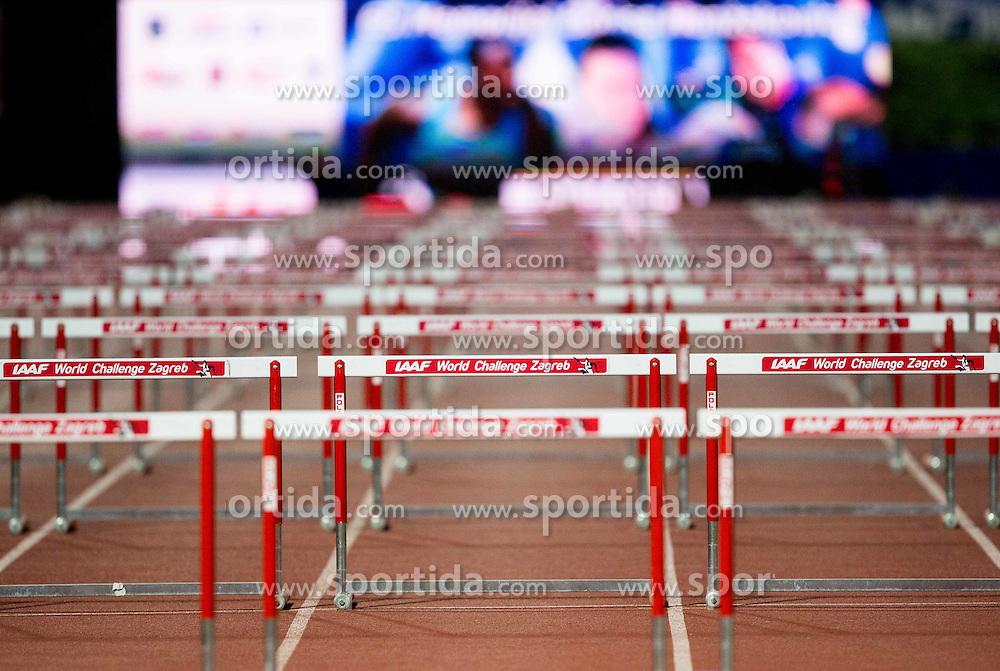 Hurdles  during IAAF World Challenge Zagreb - The 65th Hanzekovic Memorial Meeting, on September 8, 2015, in Stadium Mladost, Zagreb, Croatia. Photo by Vid Ponikvar / Sportida